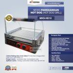 Jual Mesin Panggangan Hot Dog (Hot Dog Grill) MKS-HD10 di Solo