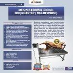 Jual Mesin Kambing Guling BBQ Roaster (GRILLO-LMB22) di Solo