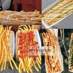 Jual Paket Mesin Long Potato Kentang Panjang di Solo
