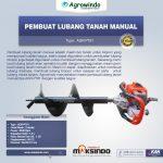 Jual Pembuat Lubang Tanah Manual (AGR-PT61) di Solo