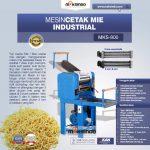 Jual Mesin Cetak Mie Industrial (MKS-800) di Solo