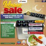 Lebaran Sale Untuk Mesin Pembuat Egg Roll (Listrik) di Solo