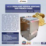 Jual Mesin Perajang Keripik Kentang dan French Fries MKS-280 di Solo
