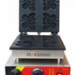 Jual Mesin Waffle Maker Bentuk Kupu-Kupu (Butterfly) MKS-BFLYW23 di Solo