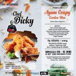 Training Usaha Ayam Crispy Dan Cordon Bleu, 16 September 2018