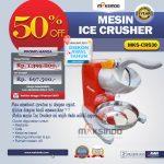 Jual Mesin Ice Crusher MKS-CRS30 di Solo