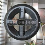 Jual Mesin Waffle Bentuk Stick Lolly (Gas) MKS-LLG40 di Solo