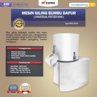 Jual Mesin Giling Bumbu Dapur (Universal Fritter Mini) MKS-UV44 di Solo