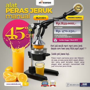 Jual Alat Pemeras Jeruk Manual (MJ1001) di Solo