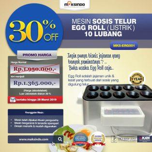 Jual Mesin Pembuat Egg Roll (Listrik) – MKS-ERG001 di Solo