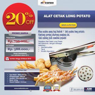 Jual Alat Cetak Long Potato MKS-LPCT30 di Solo