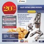 Jual Alat Cetak Long Potato MKS-LPCT50 di Solo