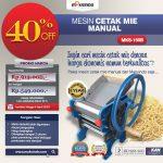 Jual Cetak Mie Manual Untuk Usaha (MKS-150B) di Solo