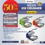 Jual Mesin Ice Crusher MKS-CRS20 di Solo