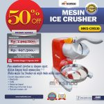 Jual Mesin Ice Crusher MKS-CRS30 di Solo