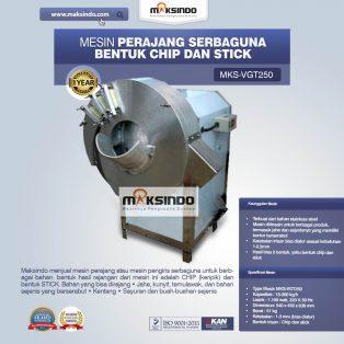 Jual Mesin Perajang Serbaguna Bentuk Chip dan Stick – MKS-VGT250 di Solo