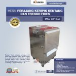 Jual Mesin Perajang Keripik Kentang dan French Fries – MKS-CT100A di Solo