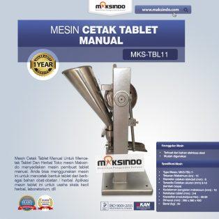 Jual Mesin Cetak Tablet Manual – MKS-TBL11 di Solo