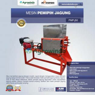 Jual Mesin Pemipih Jagung PMP-J150 di Solo
