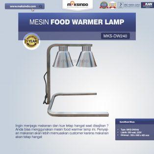 Jual Mesin Food Warmer Lamp MKS-DW240 di Solo