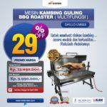 Jual Mesin Kambing Guling Gas (GRILLO-LMB33) di Solo