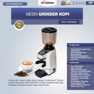 Jual Mesin Grinder Kopi (MKS-GRD80A) di Solo