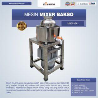 Jual Mesin Mixer Bakso MKS-MX1 Di Solo