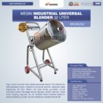 Jual Industrial Universal Blender 32 Liter di Solo