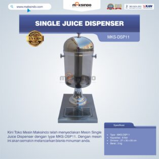 Jual Single Juice Dispenser MKS-DSP11 di Solo