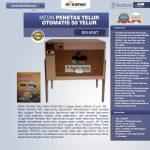 Jual Mesin Penetas Telur Otomatis 50 Telur (EM-50AT) di Solo