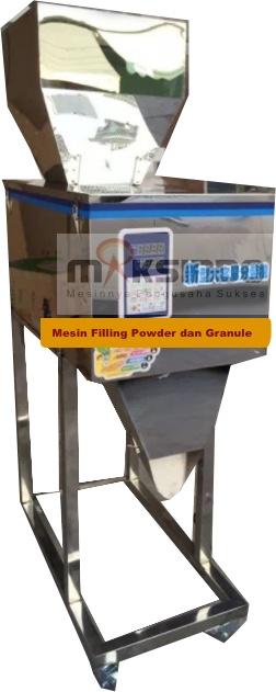 Jual Mesin Filling Tepung dan Biji (20-1200gr) di Solo
