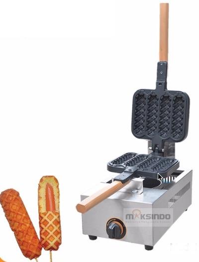 Jual Mesin Gas Stick Waffle (Hot Dog Waffle) – SW04 di Solo