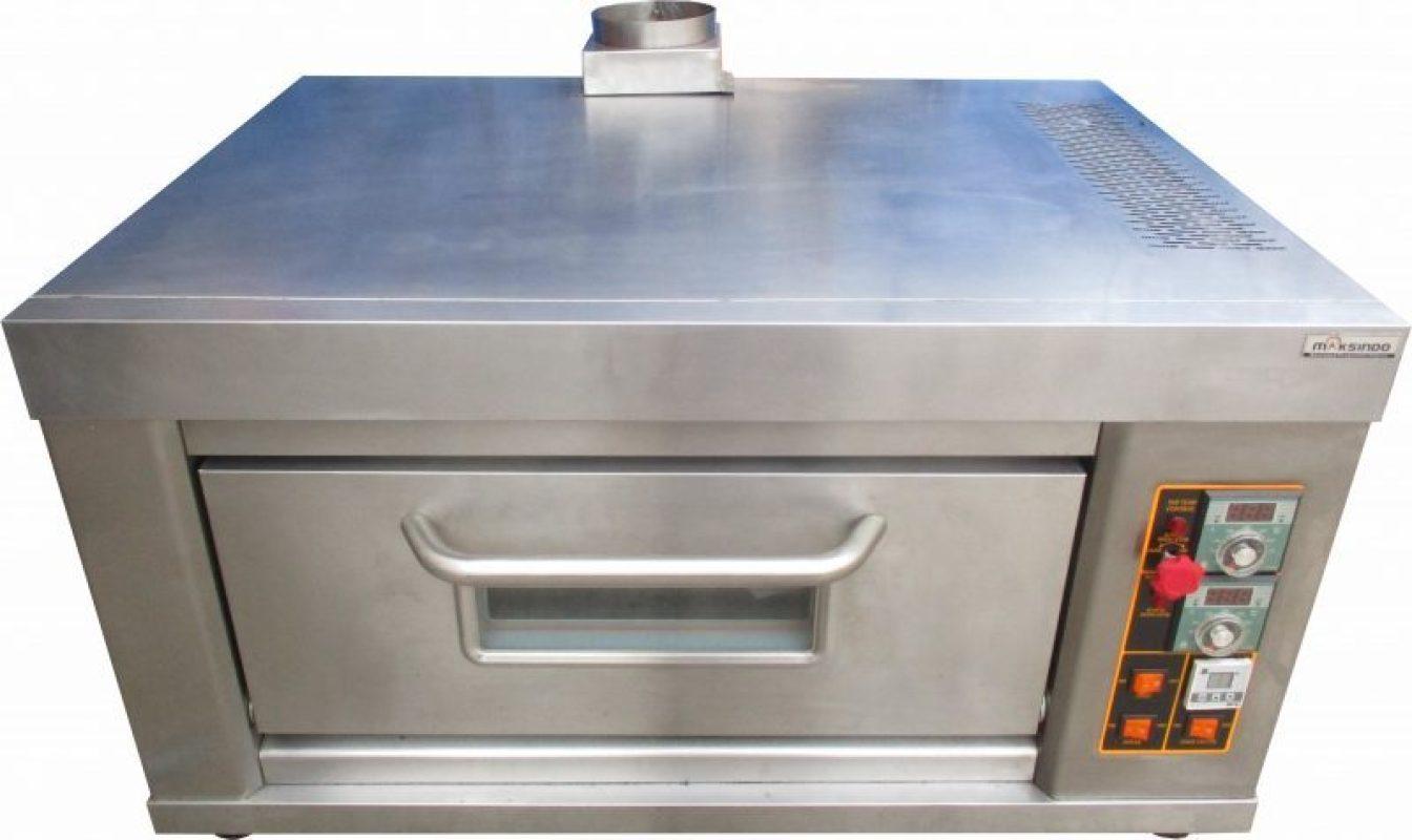 Jual Mesin Oven Roti Gas 1 Loyang (MKS-RS11) di Solo