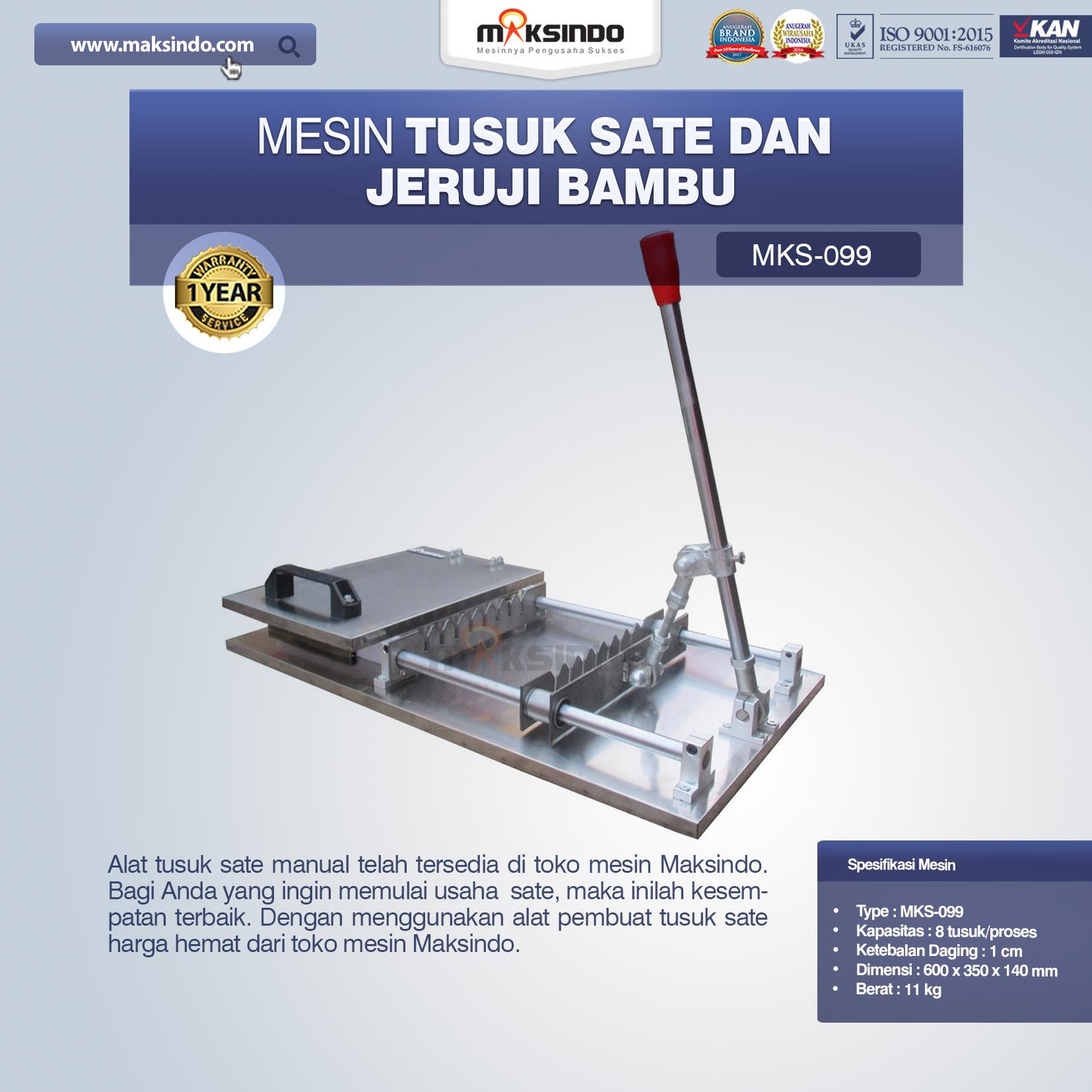 Jual Alat Tusuk Sate ManualMKS-099 di Solo