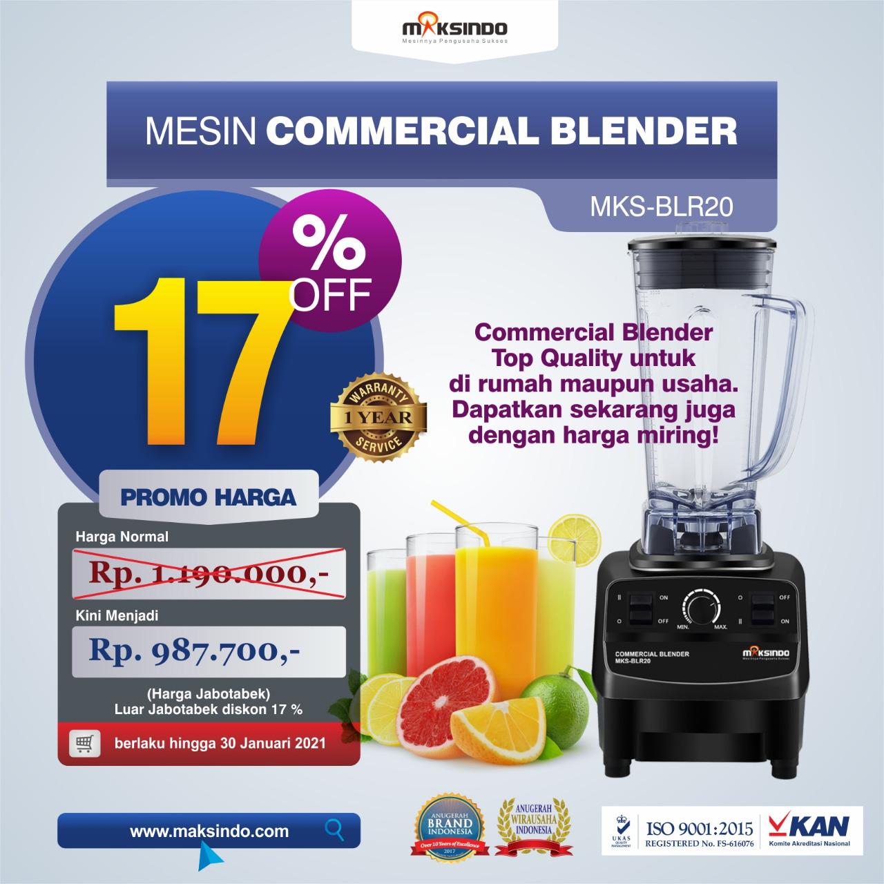 Jual Commercial BlenderMKS-BLR20 di Solo