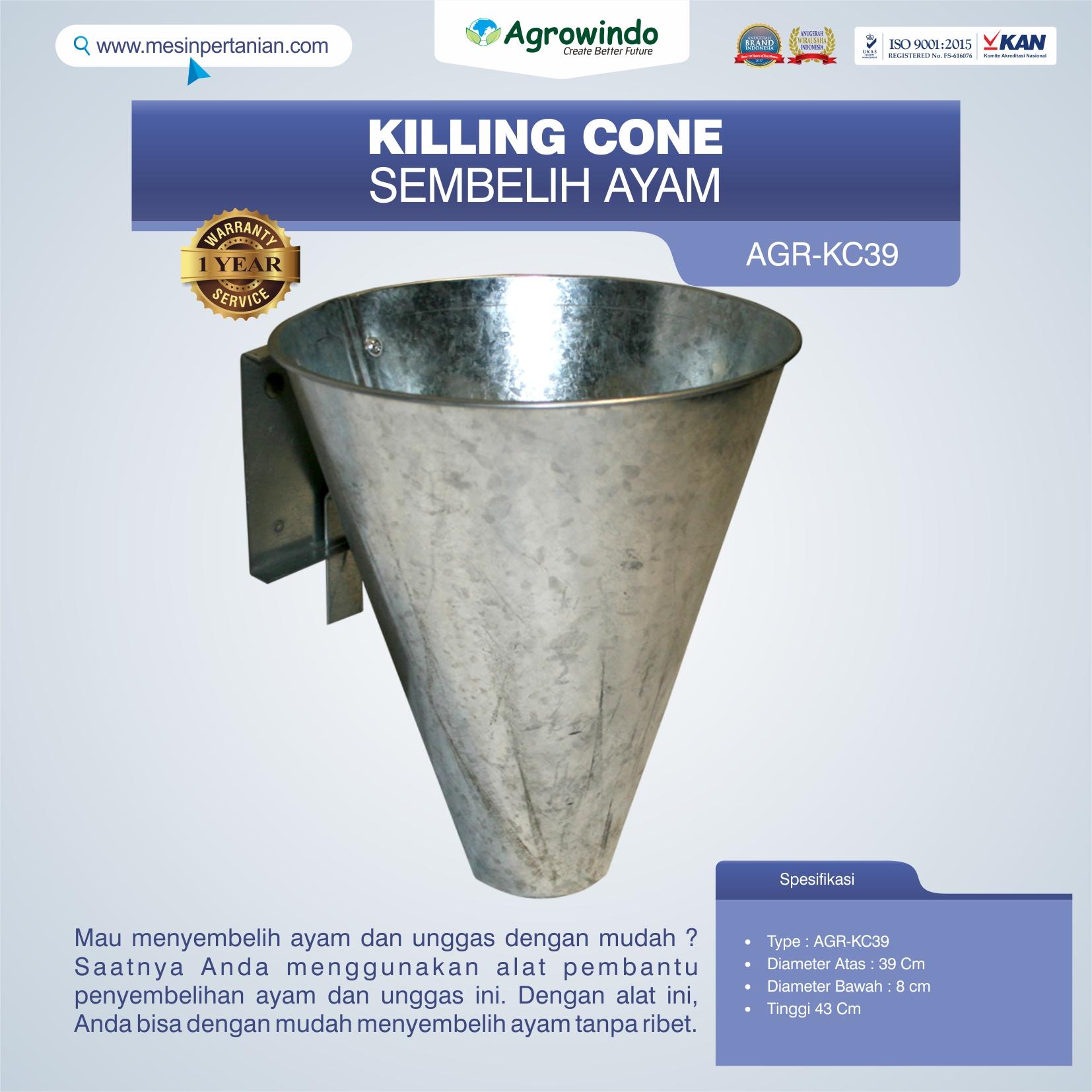Jual Killing Cone Alat Sembelih Ayam di Solo