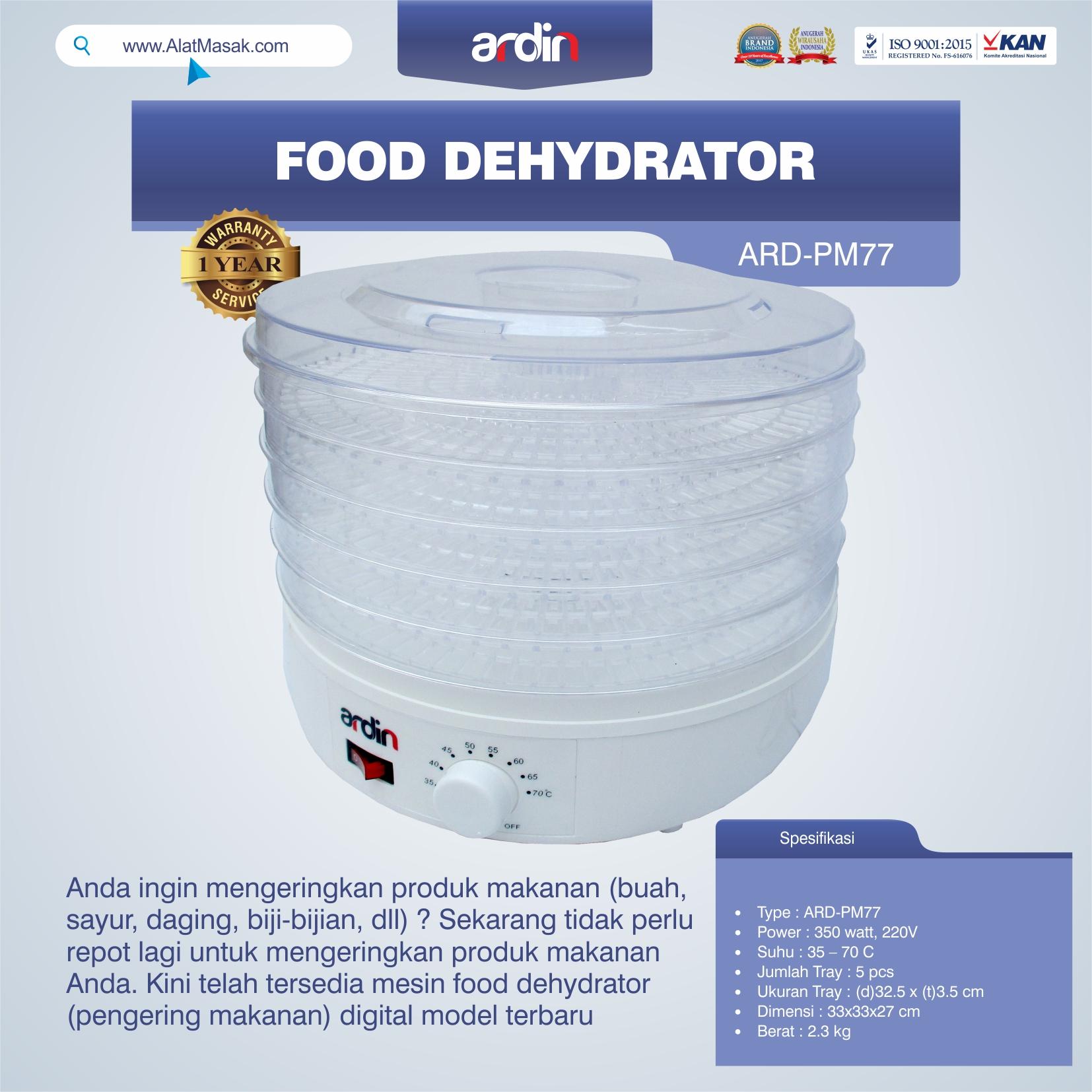 Jual Food Dehydrator ARD-PM77 di Solo