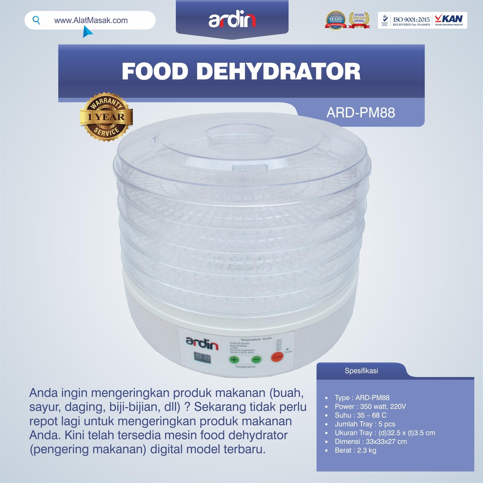 Jual Food Dehydrator ARD-PM88 di Solo