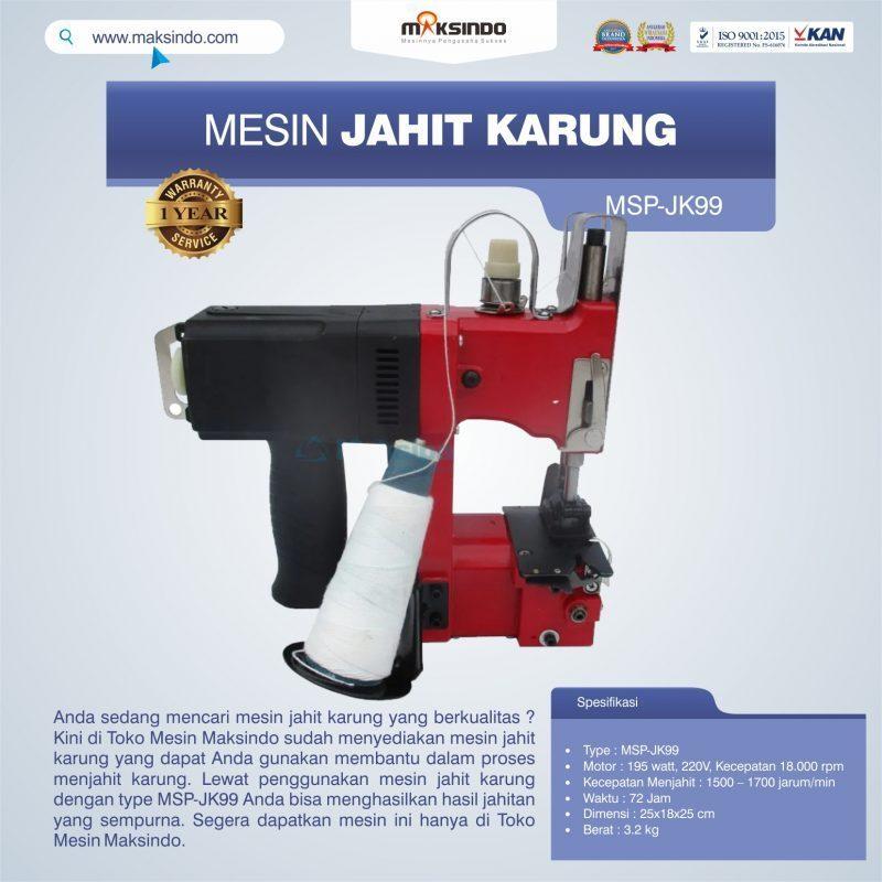 Jual Mesin Jahit Karung MSP-JK99 di Solo