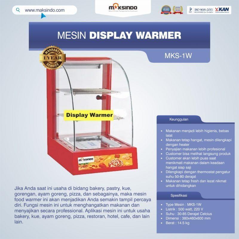 Jual Mesin Diplay Warmer (MKS-1W) di Solo
