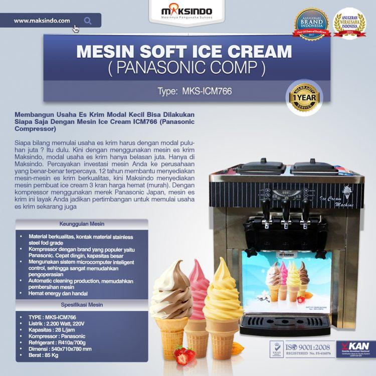 Jual Mesin Soft Ice Cream ICM766 (Panasonic Comp) di Solo